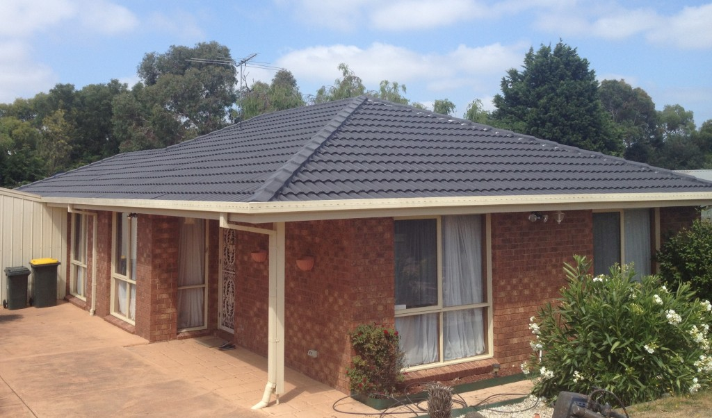 Cement tile roof Restoration and repairs in Pearcedale