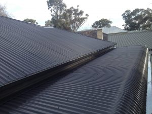 Tin roof restoration by The Roof Reviver in Frankston